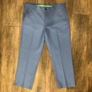 IZOD Golf Men's Blue Slim Fit Golf Pants